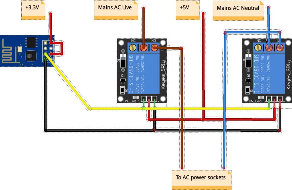 Power strip schematics