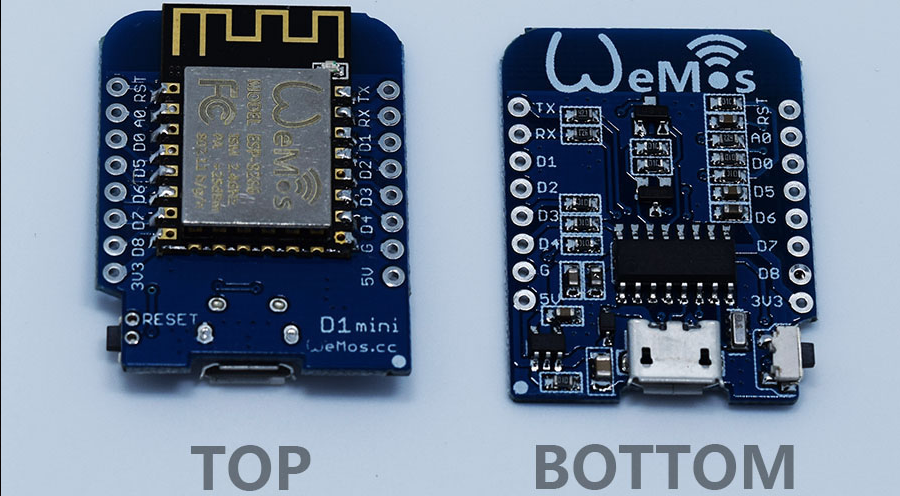 Miniature ESP8266 based NodeMCU