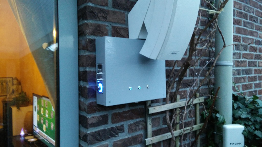 Veranda control center - LEDs