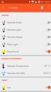 Veranda Control - OpenHAB